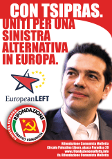 uniti per una sinistra alternativa in Europa