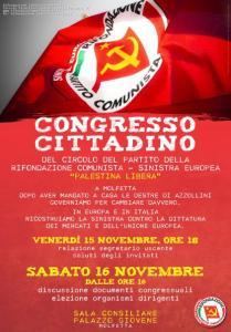 Manifesto congresso