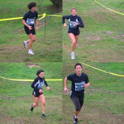 La squadra femminile al cross del Tevere 2008