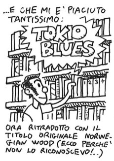 """Tokio Blues"" in italian, originally ""Norwegian Wood""..."