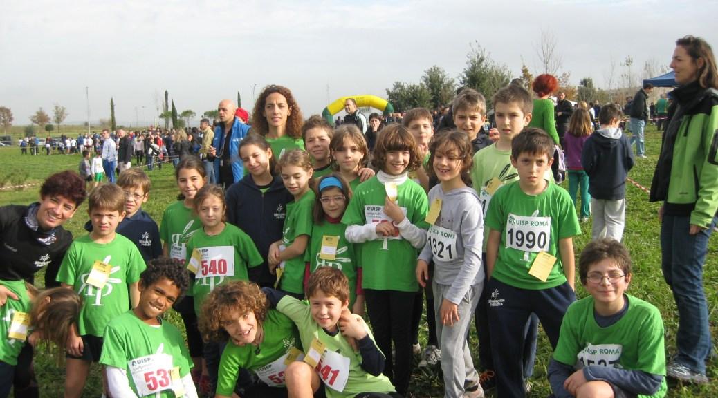 Foto di gruppo al Parco delle Sabine