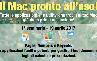 "Seminario ""Pages, Numbers e Keynote"""