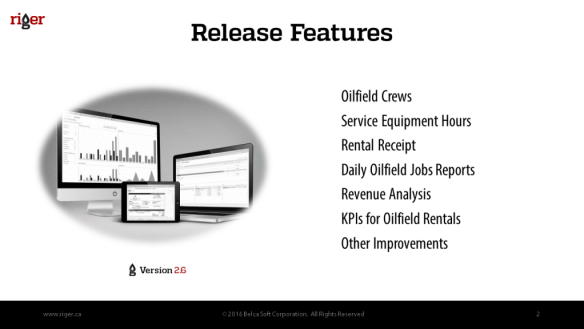 oilfield rentals Archives - BelcaSoft - Business Software in