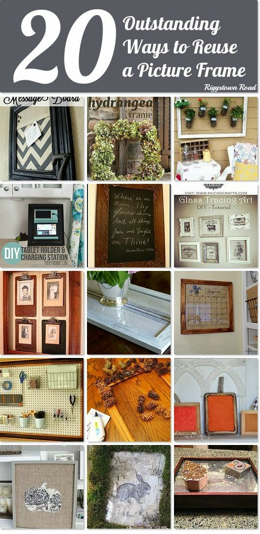 http://www.hometalk.com/b/7089234/picture-frame-upcycles