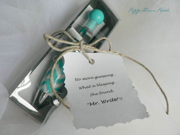 bridal shower favor by Riggstown Road