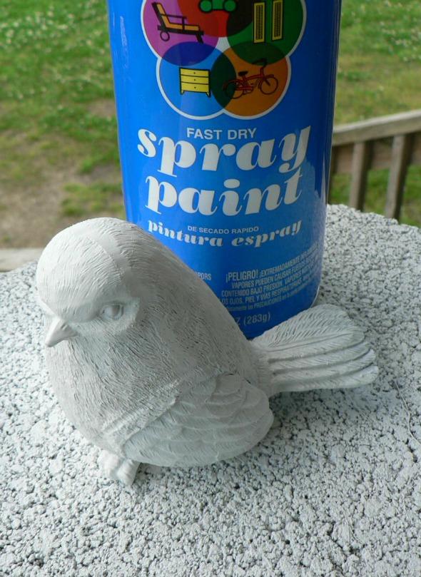 DIY chippy bird by Riggstown Road
