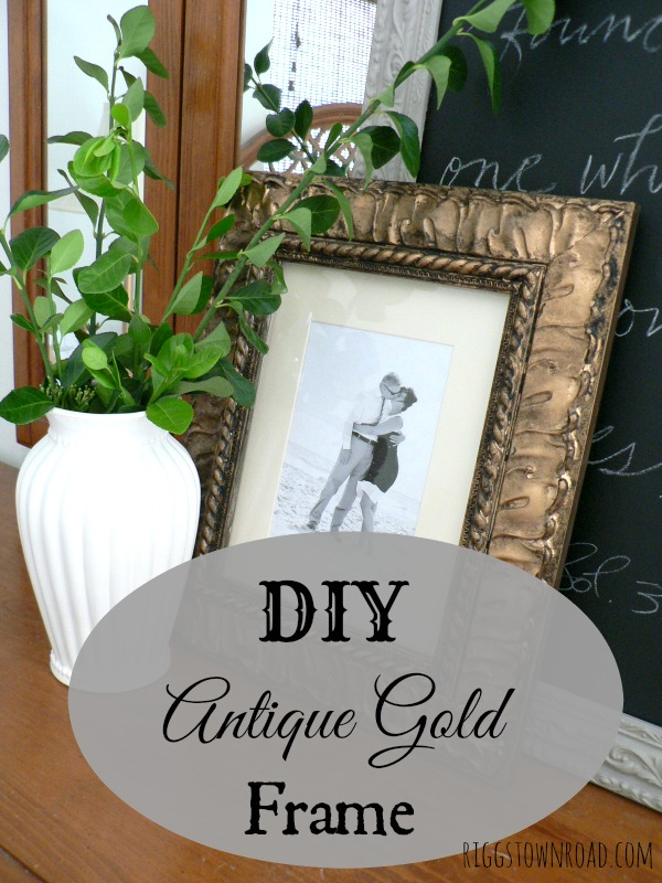ab184f96e059 diy antique gold frame by riggstown road