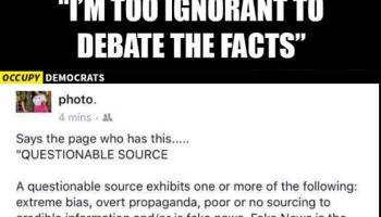 occupy democrats logic facebook