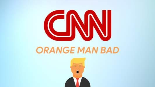 CNN Unveils New Slogan: 'Orange Man Bad'
