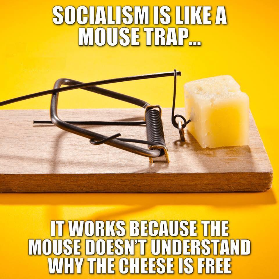 Socialism is like a Mouse Trap