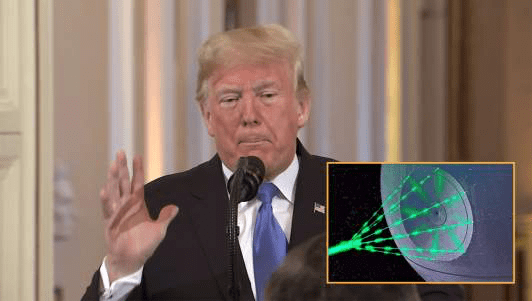 Trump Approves Use Of Death Star On Migrant Caravan