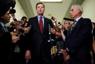 President Trump slams former FBI director James Comey