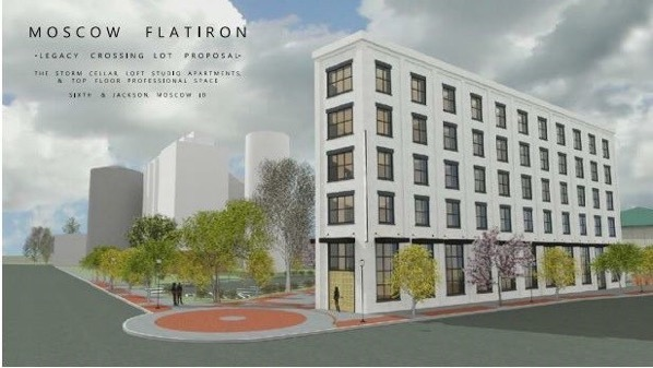 Moscow Flatiron development proposal selected for property near downtown