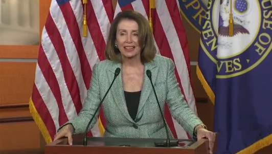 Pelosi: 'Any Child Who Somehow Escaped Both Abortion And Infanticide Has Earned The Right To Vote'