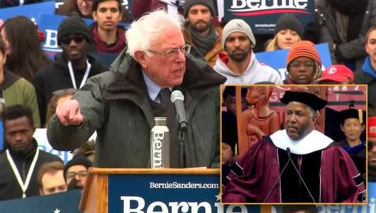 Bernie Sanders Criticizes Billionaire For Giving Money To Students Instead Of The Needy Federal Government