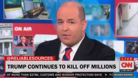 CNN: 'Our Ratings Are Only Tanking Because Trump Is Killing