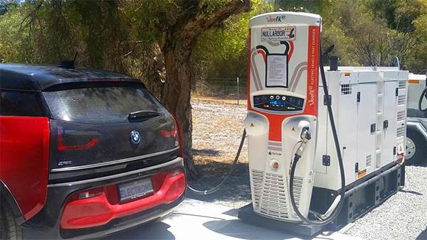 Diesel generator ev charger m 1