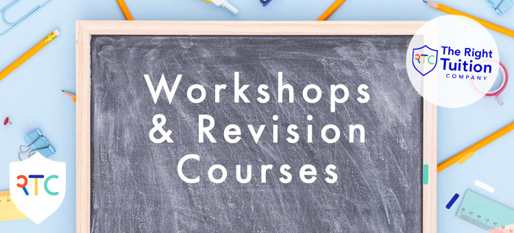 Spring and Summer Workshops and Revision Courses