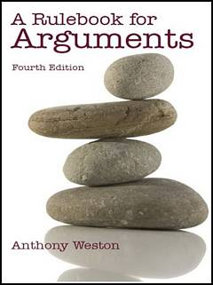 'A Rulebook for Arguments' by Anthony Weston (ISBN 0872209547)