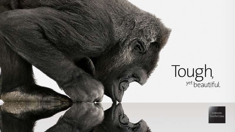 Corning's Gorilla Glass for Smartphones from Chemcor formulation
