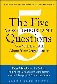 'Five Most Important Questions' by Peter Drucker (ISBN 0470227567)