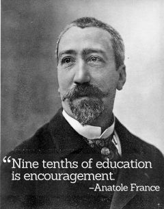 Inspirational Quotations by Anatole France
