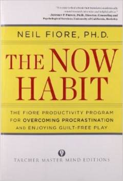 'The Now Habit' by Neil Fiore (ISBN 1585425524)