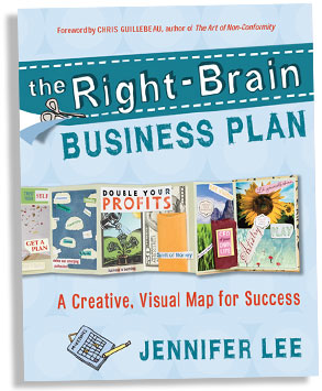Building Your Business the Right-Brain Way - Jennifer Lee