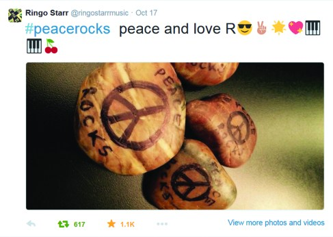 ringo starr peace rocks resend