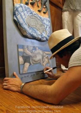 Ian Somerhalder signing Perceptions I