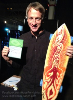 Tony Hawk with Devin Boutwell's Risen
