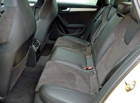 Audi S4 B8 Rear Seats