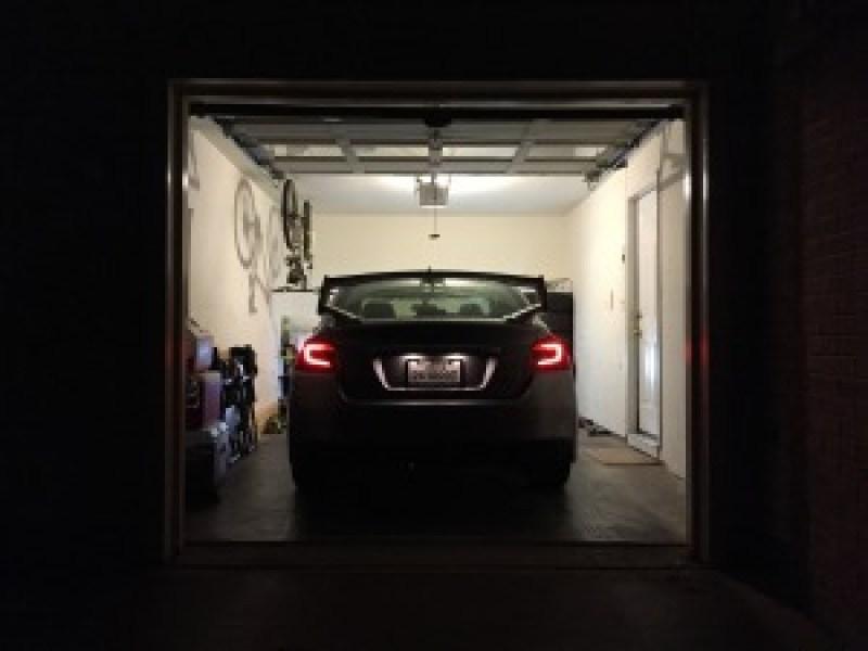 2015 WRX in Garage