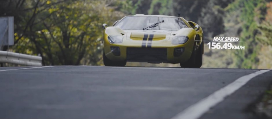 Motorhead Hill Climb Yellow GT-40
