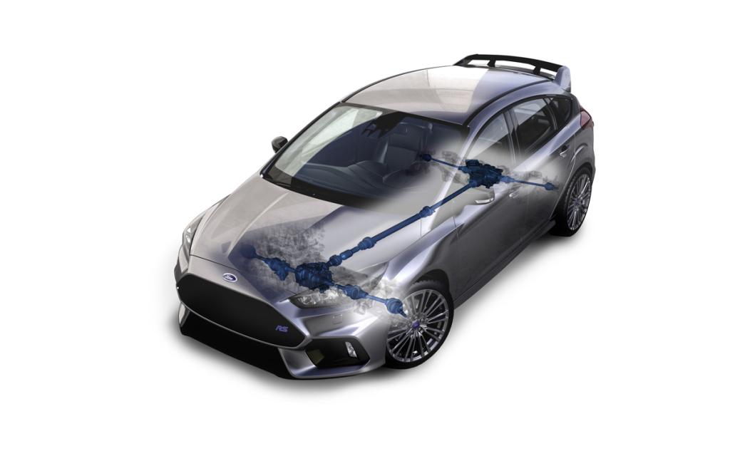 2016 Ford Focus RS Drivetrain