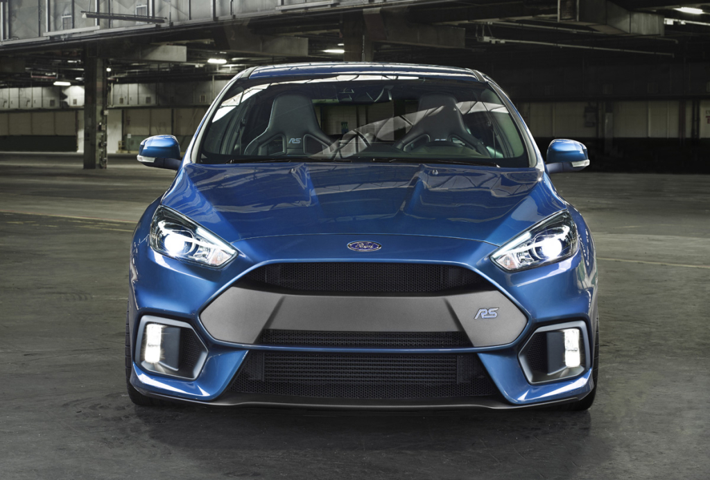 2016 Ford Focus RS Front Recaro Seats
