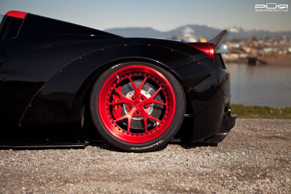 Widebody Liberty Walk Ferrari 458 Spider