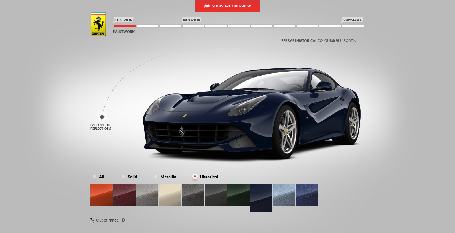 Ferrari F12 Berlinetta Build Your Own
