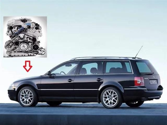 W8 VW Passat