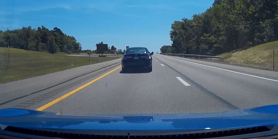 Left lane highway blocker