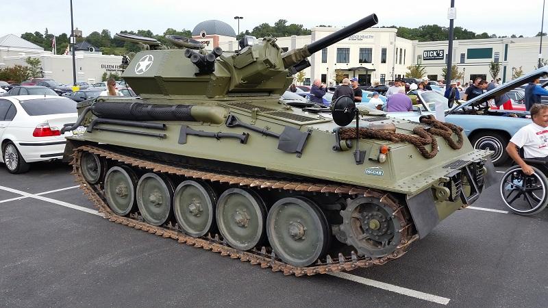 A fucking tank