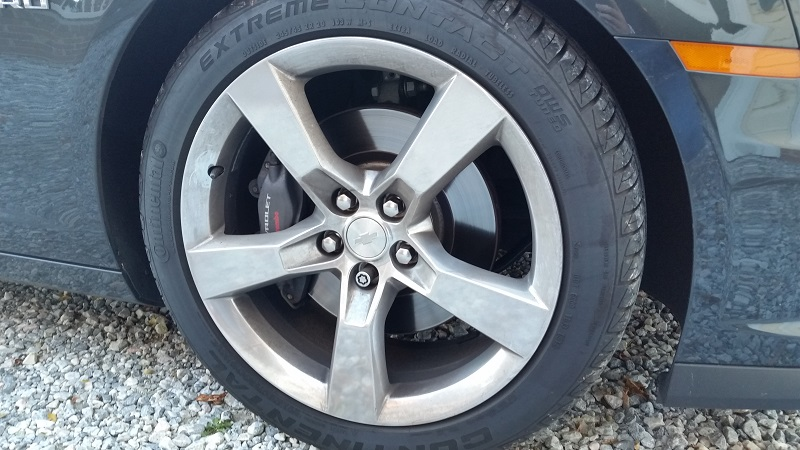 Chevrolet Camaro SS wheel