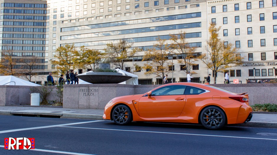 2016 Lexus RC F in Washington, DC.