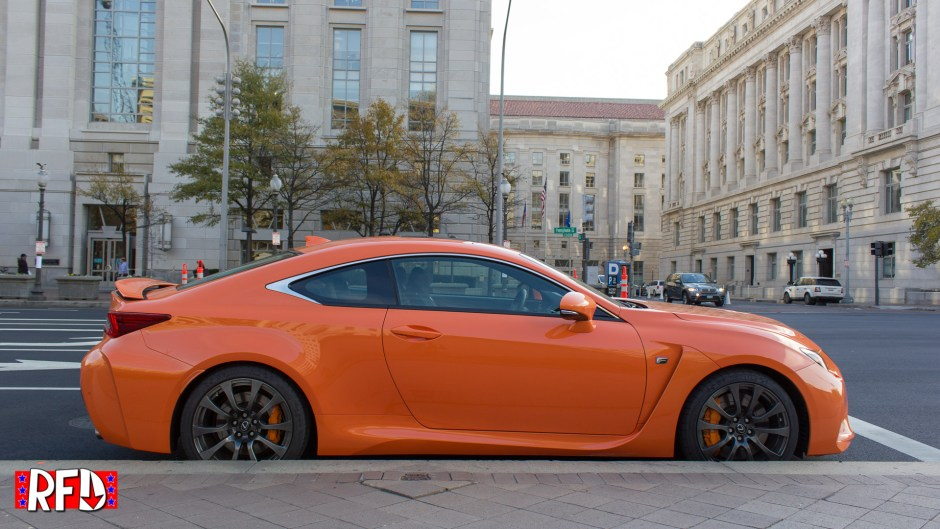 2016 Lexus RC F in Washington, DC. Photo by Will Byrd and Josh Taylor