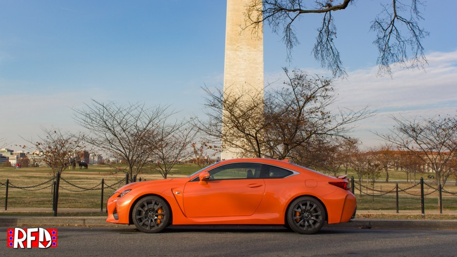 2016 Lexus RCF in Washington, DC.
