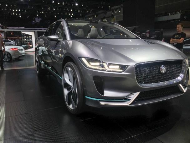 Jaguar I-Pace at 2016 LA Auto Show