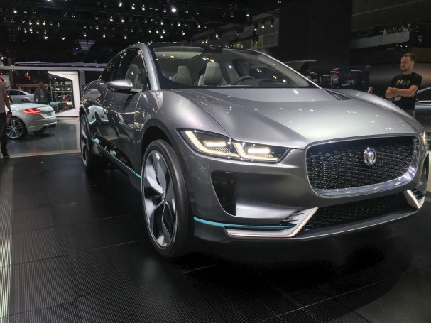 Jaguar I-Pace at 2016 LA Auto Show