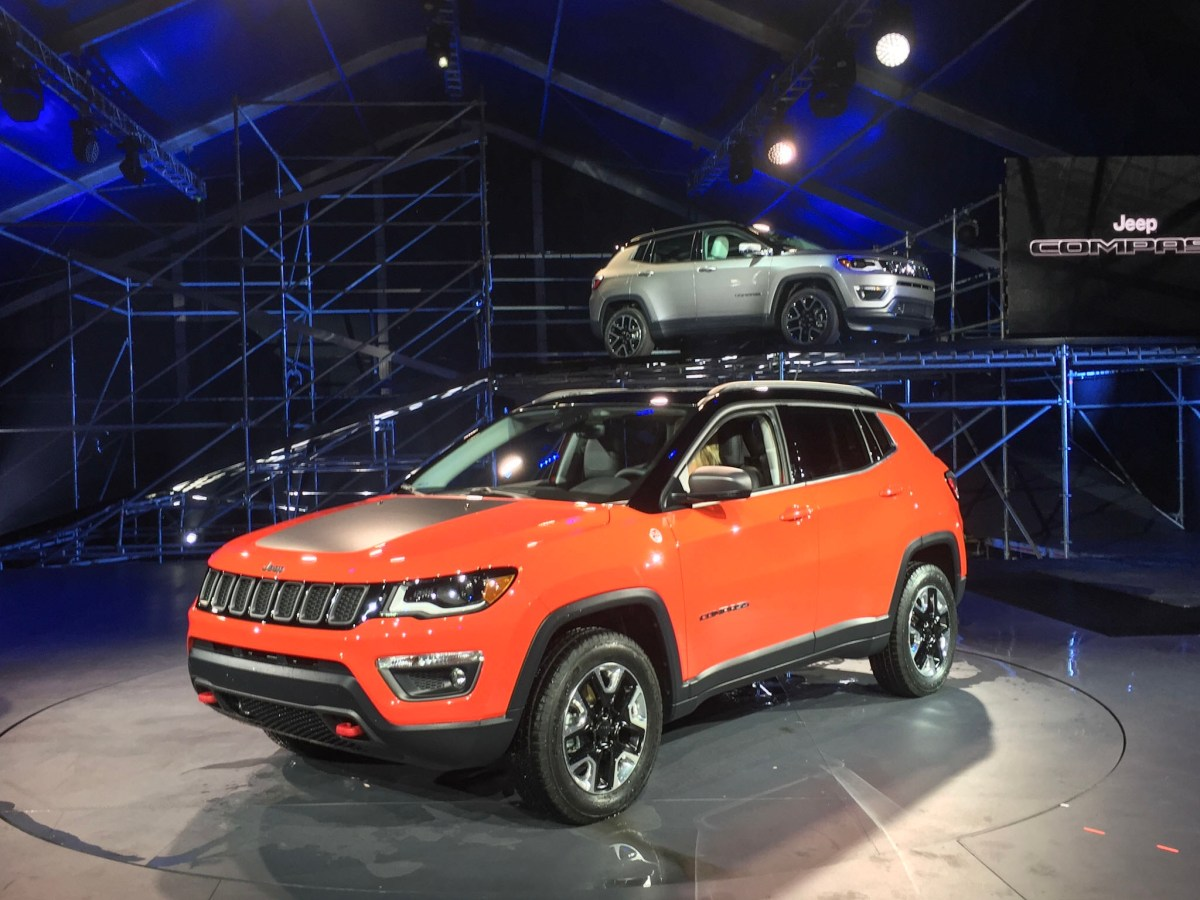 2017 Jeep Compass at the LA Auto Show