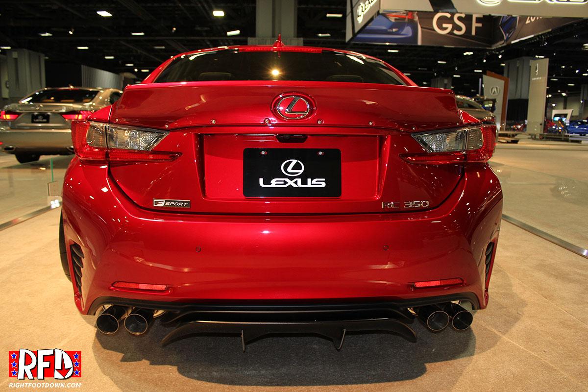 Lexus RC350 tuner