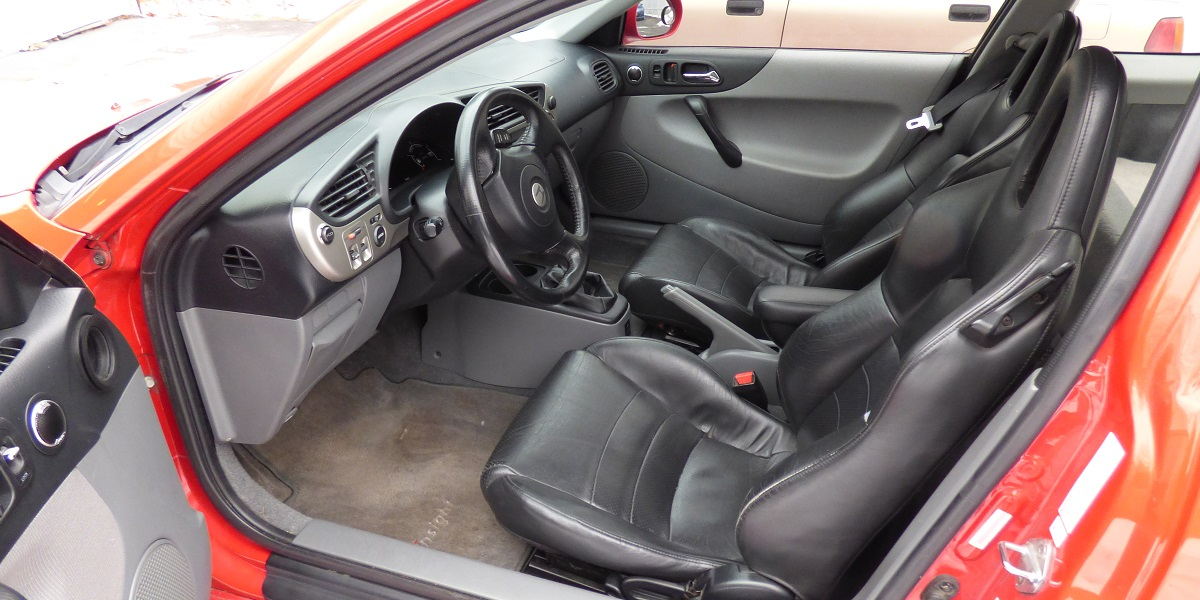 Honda Insight with S2000 seats and steering wheel
